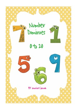 NUMBER DOMINOES (1 - 20)