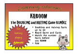 NUMBER FACTS BUNDLE - Doubles and Halves to 24 - KABOOM GAMES