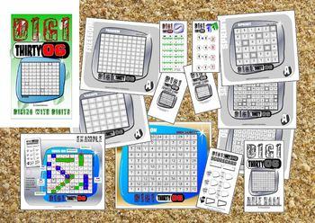 NUMBER FACTS: DIGI 36 Board Game