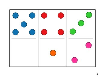 NUMBER FAMILY DOMINO CARDS - 0-18