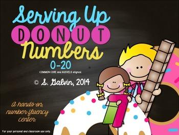 (NUMBER FLUENCY 0-20) Serving Up DONUT Numbers!