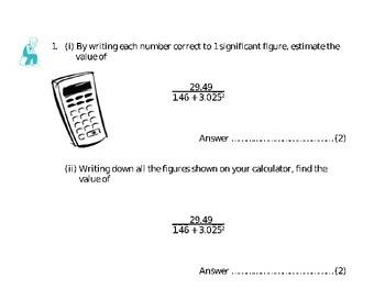 NUMBER - FRACTIONS, DECIMALS, PERCENTAGE, SIG FIG, ROUNDING, FACTORS, ETC.