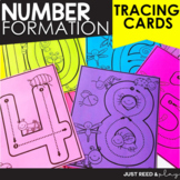 NUMBER Formation | Path of Motion Tracing Cards