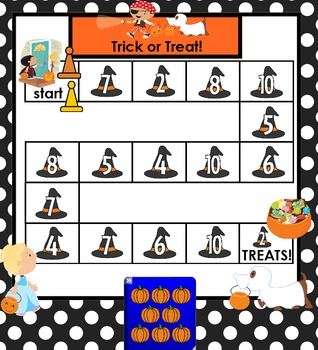 NUMBER GAMES:  Halloween Edition