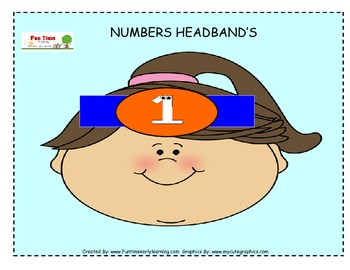 NUMBER HEADBANDS 1-10