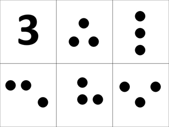 NUMBER MATCH, MATH STATIONS, NUMBER CONCEPTS