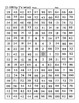 NUMBER MAZES 1-100, 1-30 four times, 2's, 5's