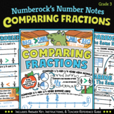 NUMBER NOTES ★ Fun Comparing Fractions Activity ★ 3rd Grade Math Doodles 3.NF.3
