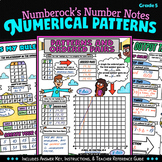 NUMBER NOTES ★ Patterns and Ordered Pairs Guided Notes ★ 5th Grade Math Doodling