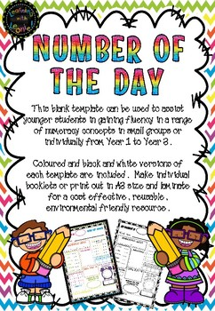 NUMBER OF THE DAY BOARD – FREE