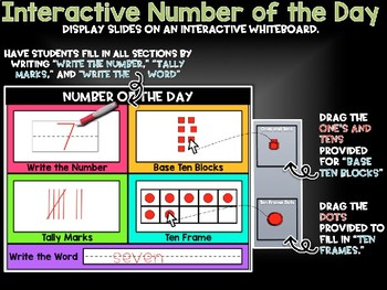NUMBER OF THE DAY - Interactive Activity