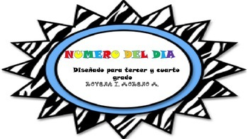 NUMBER OF THE DAY/NUMERO DEL DIA