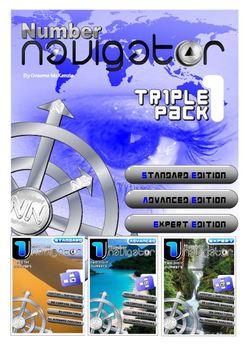 NUMBER OPERATIONS: ADD and SUBTRACT; Number Navigator 1: TRIPLE PACK
