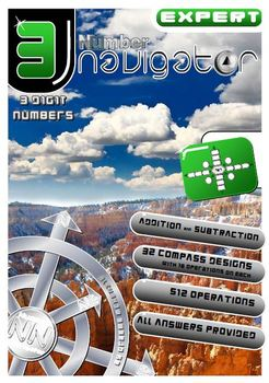 NUMBER OPERATIONS: ADD and SUBTRACT; Number Navigator 3 EXPERT Edition