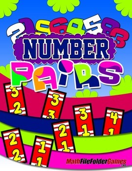 NUMBER PAIRS: Adding, Subtracting, Multiplying & Dividing Game