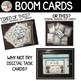 NUMBER PATH BOOM CARDS