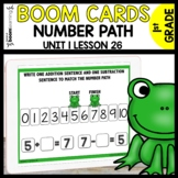 NUMBER PATH BOOM CARDS | Module 1 Lesson 26