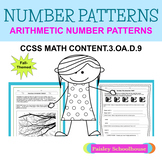 ARITHMETIC: NUMBER PATTERNS
