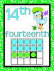 NUMBER POSTERS 1-20: Classroom Decor, Blue & Green Decor, Number Concepts