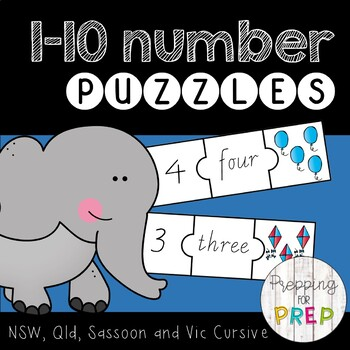 NUMBER PUZZLES 1-10