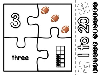 NUMBER PUZZLES (1-20)
