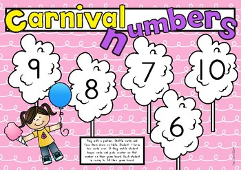 NUMBER RECOGNITION 1 to 10 Games Pack