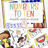 NUMBERS - NUMBER SENSE TO TEN: MATH ACTIVITY PACK