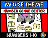 MOUSE NUMBER SENSE GAME FOR KINDERGARTEN (SORTING ACTIVITY) NUMBERS 1-10