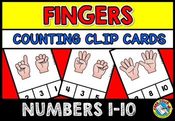 NUMBER SENSE ACTIVITIES: PRE K+KINDERGARTEN COUNTING PRINTABLES:COUNTING FINGERS
