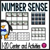 PENGUINS Kindergarten Number Sense Activities 1-20