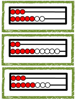 Making Ten Rekenrek Cards