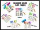 NUMBER SENSE CLIP CARDS