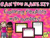"NUMBER SENSE ""Can you make it?"""