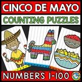 NUMBER SEQUENCE 1-100 CINCO DE  ACTIVITY KINDERGARTEN (MAY