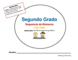 NUMBER SEQUENCE 100-1000 IN SPANISH