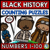 NUMBER SEQUENCE BLACK HISTORY MONTH ACTIVITY KINDERGARTEN