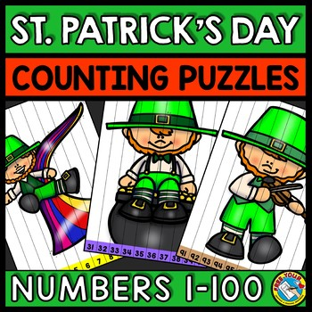 NUMBER SEQUENCE ST PATRICKS DAY ACTIVITY KINDERGARTEN (MARCH MORNING WORK)
