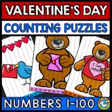 NUMBER SEQUENCE VALENTINES DAY ACTIVITY KINDERGARTEN (FEBR