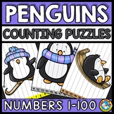 NUMBER SEQUENCE WINTER ACTIVITY KINDERGARTEN (PENGUINS DECEMBER MORNING WORK)