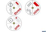 NUMBER SPINNING WHEEL 1-10 / ENGLISH