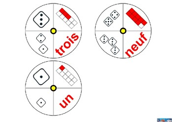 NUMBER SPINNING WHEEL 1 TO 10