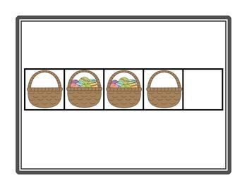 NUMBER TALKS with Easter Images (Kinder/1st)