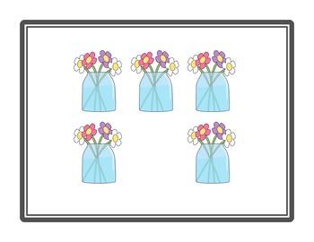 NUMBER TALKS with Spring Images (Kinder/1st)