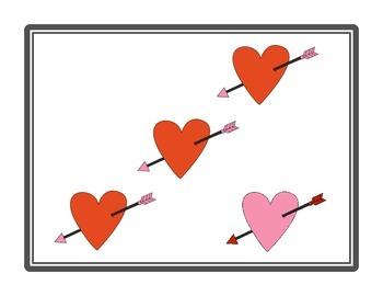 NUMBER TALKS with Valentine's Images (Kinder/1st)