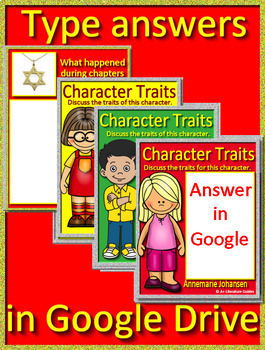 Number the Stars Google Novel Study Use With OR Without Digital Google Drive