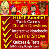 Number the Stars Google Novel Study Print AND Paperless with Self-Grading Tests