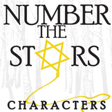 NUMBER THE STARS Characters (by Lois Lowry)