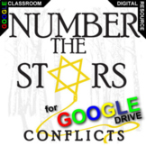 NUMBER THE STARS Conflict Graphic Organizer (Created for Digital)