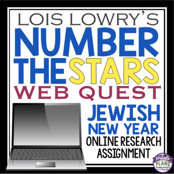 NUMBER THE STARS: JEWISH NEW YEAR WEB QUEST ACTIVITY