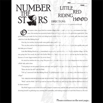 number the stars little red riding hood by created for learning tpt number the stars little red riding hood